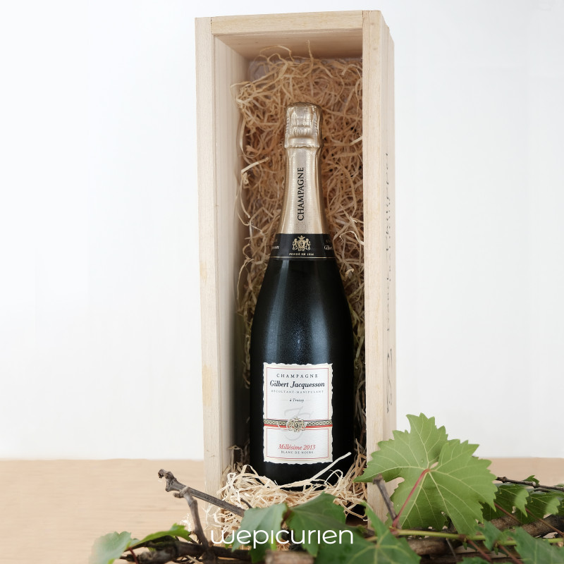 Wepicurien • Champagne Brut Millésime 2013 | Domaine Gilbert Jacquesson • Champagne
