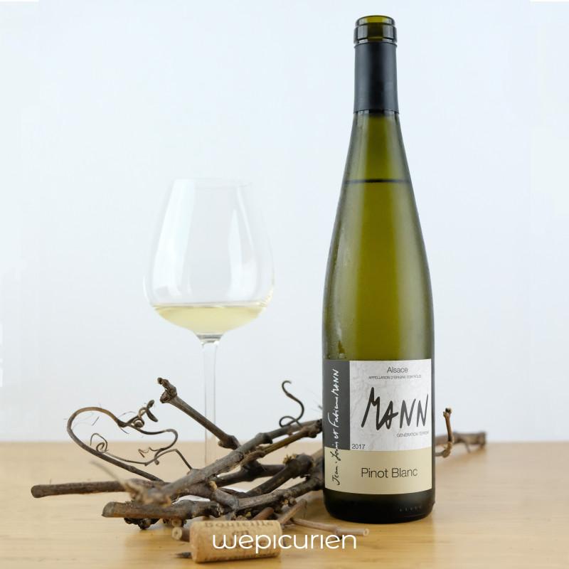Wepicurien • Pinot Blanc 2017   Vignoble des 3 terres • Alsace