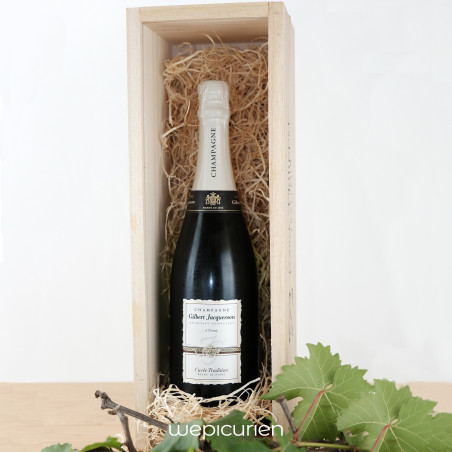 Wepicurien • Champagne Brut Tradition   Domaine Gilbert Jacquesson • Champagne
