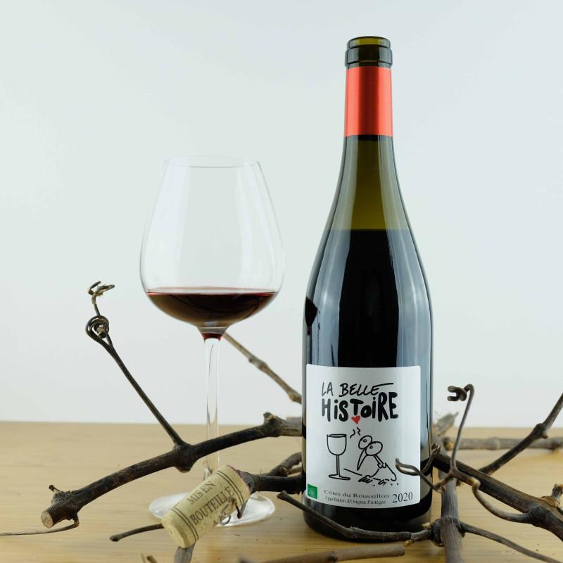 La Belle Histoire 2020 | Mas Delmas • A.O.P.Côtes du Roussillon