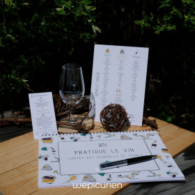 Cahier Amble Wine | France...