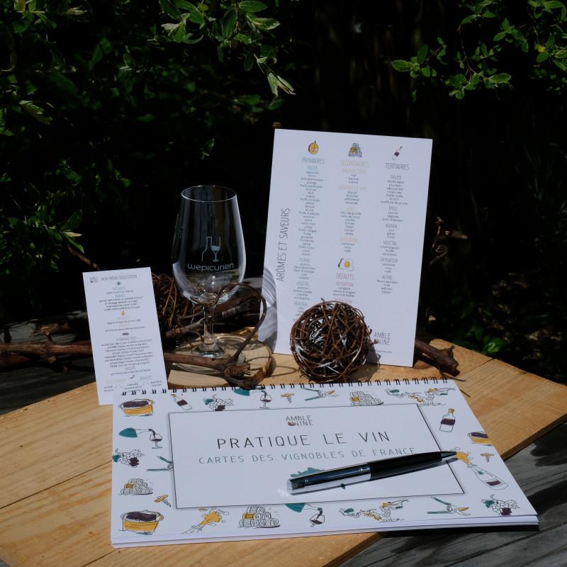 Cahier Amble Wine   France langue FR